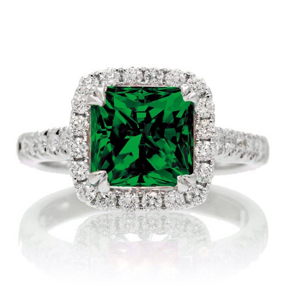 Featured Photo of Emerald Engagement Rings For Women