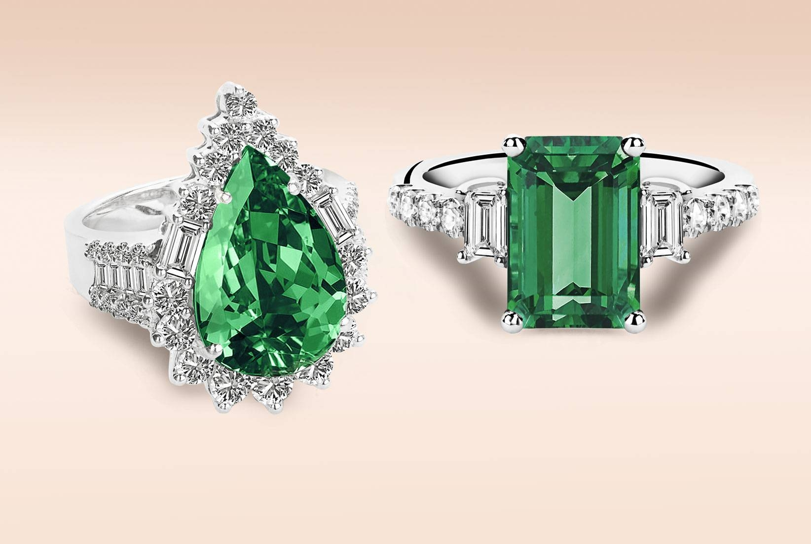 Emerald Engagement Rings For The Alternative Bride – Diamondere Blog Throughout Emrald Engagement Rings (View 9 of 15)