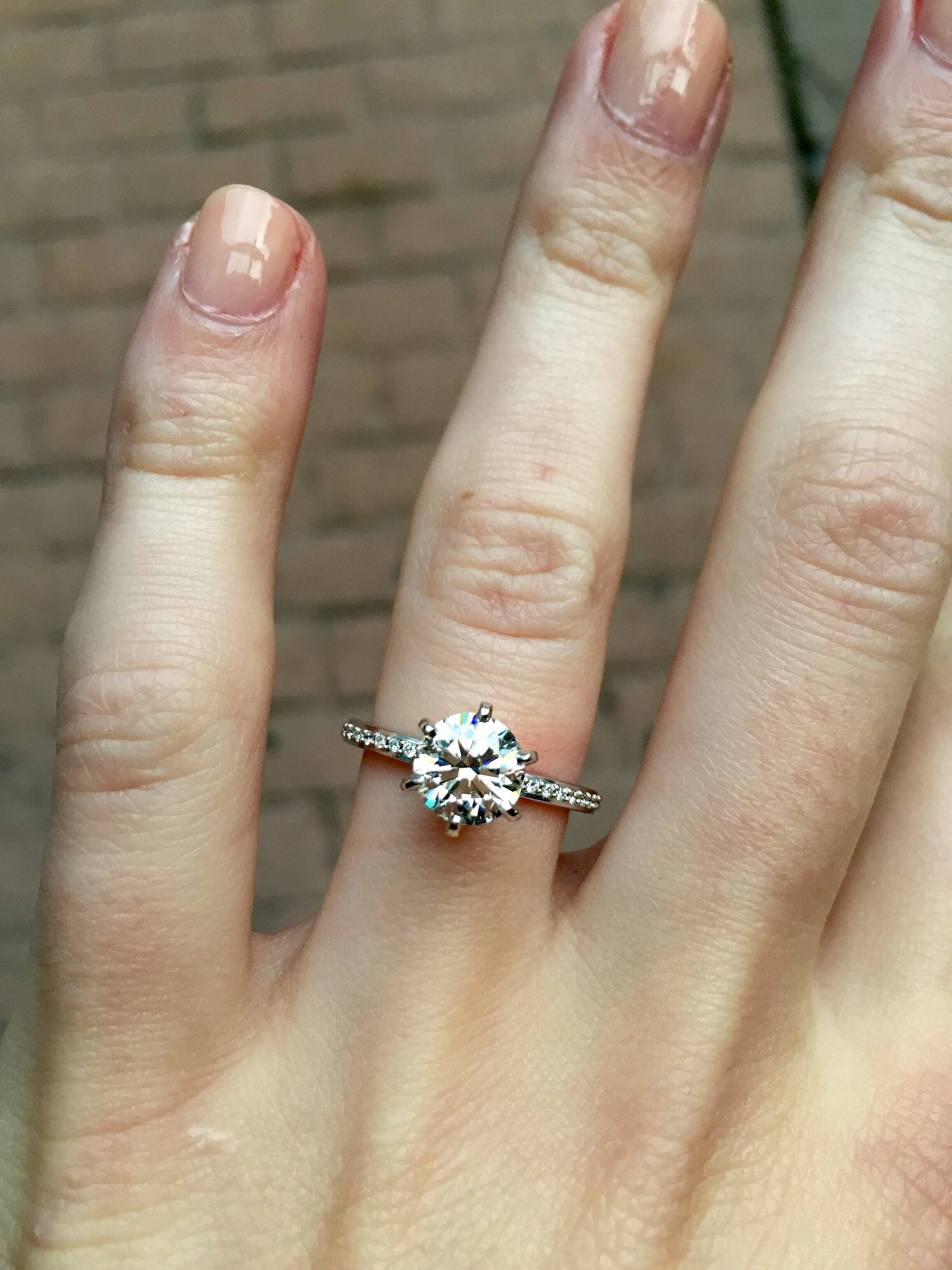 Featured Photo of Weddingbee Engagement Rings