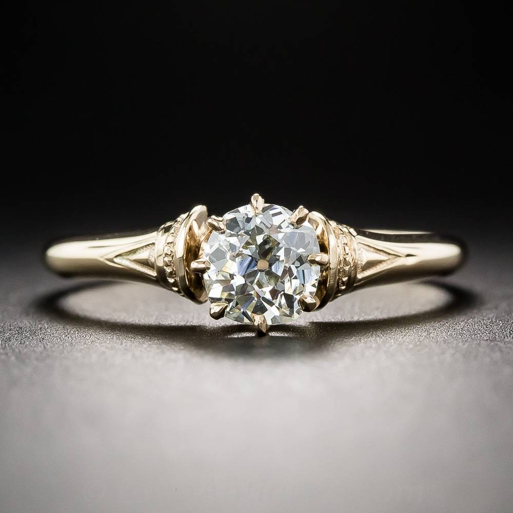 Engagement Rings: A Backward Glance – Aju Pertaining To Renaissance Style Engagement Rings (View 5 of 15)