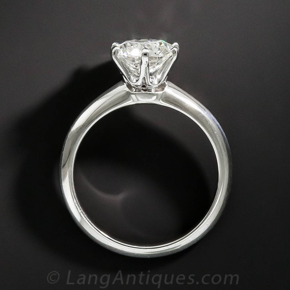Engagement Rings: A Backward Glance – Aju Regarding Wedding Rings Settings Without Stones (Gallery 12 of 15)