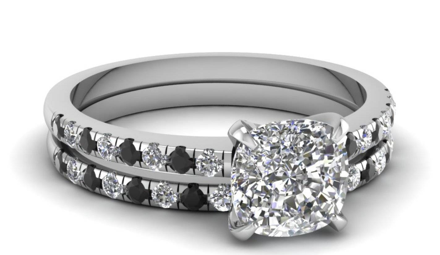 Engagement Rings : Amazing Engagement Rings Black Diamond Black Intended For Diamond Engagement Rings Under  (View 7 of 15)