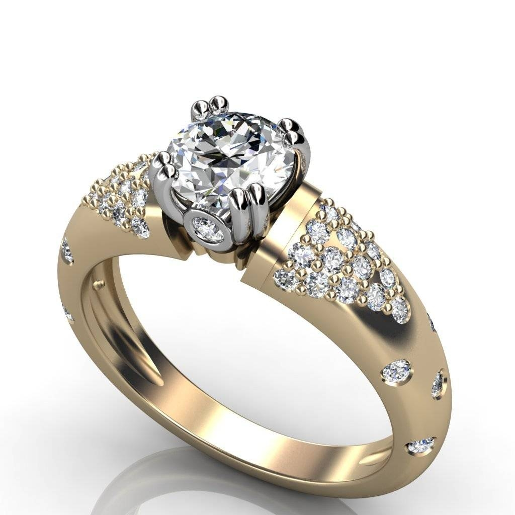Merveilleux Engagement Rings : Awesome Princess Cut Engagement Rings Cheap Within  Unique Womens Wedding Rings (View
