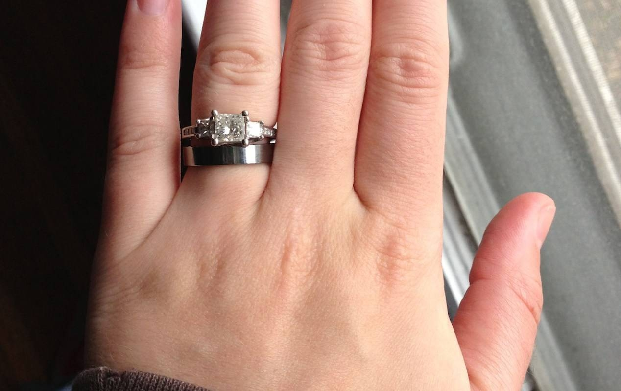 Engagement Rings : Awesome Tungsten Engagement Rings For Her Men S Inside Tungsten Engagement Rings For Her (View 7 of 15)