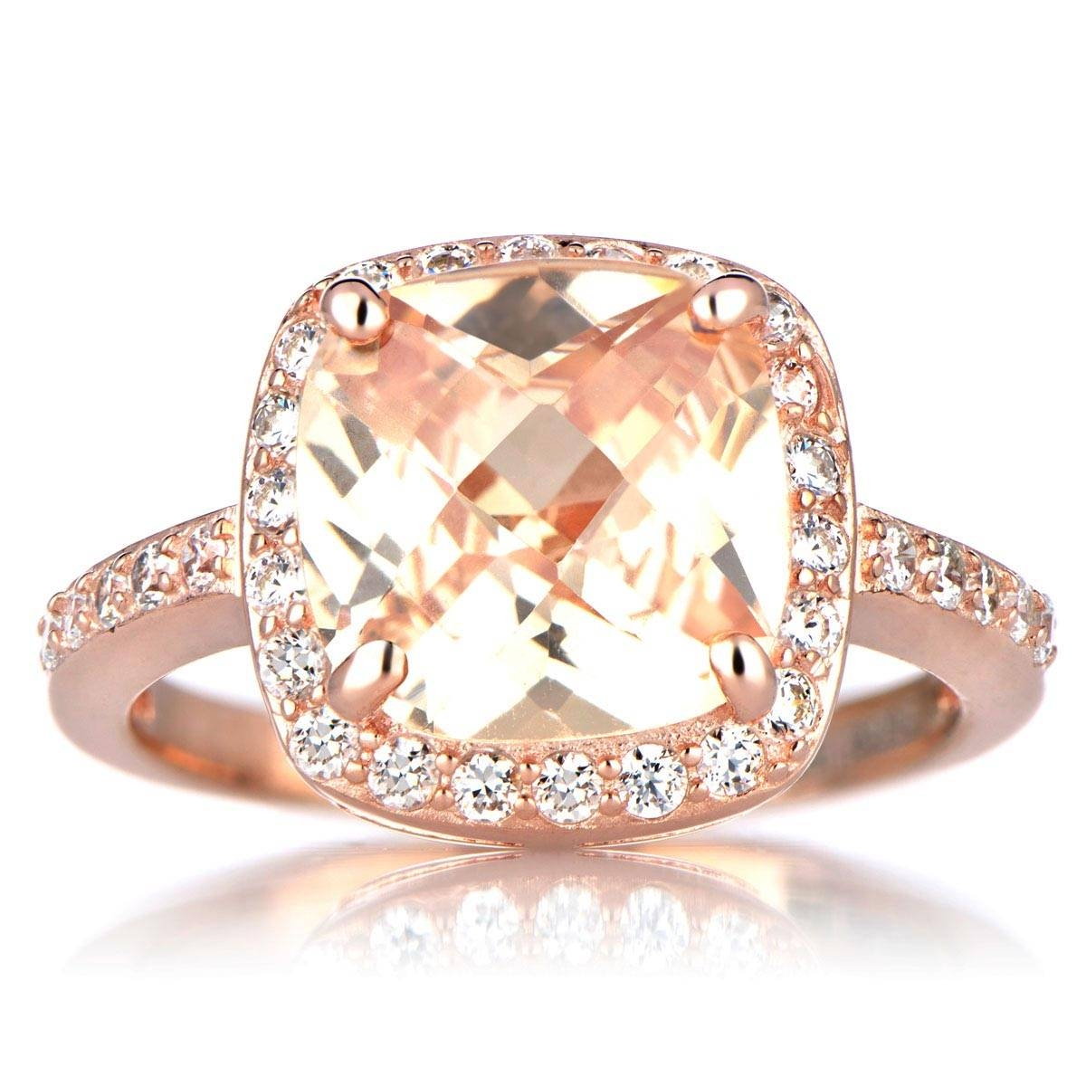 Engagement Rings : Awesome Vintage Engagement Rings Rose Gold Kirk Pertaining To Gold Rose Wedding Rings (View 6 of 15)