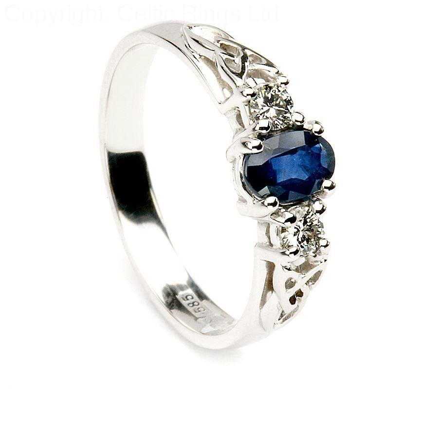Featured Photo of Sapphire Celtic Engagement Rings
