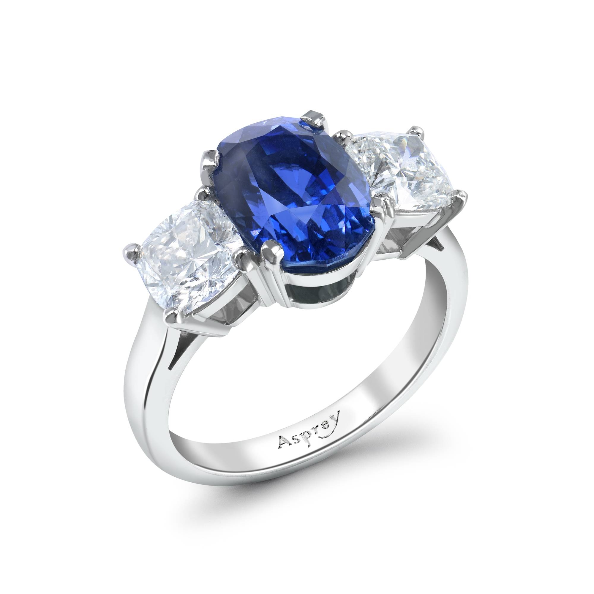 Engagement Rings : B Sbv Loveme Beautiful Engagement Ring Sapphire Throughout Saffire Engagement Rings (View 3 of 15)
