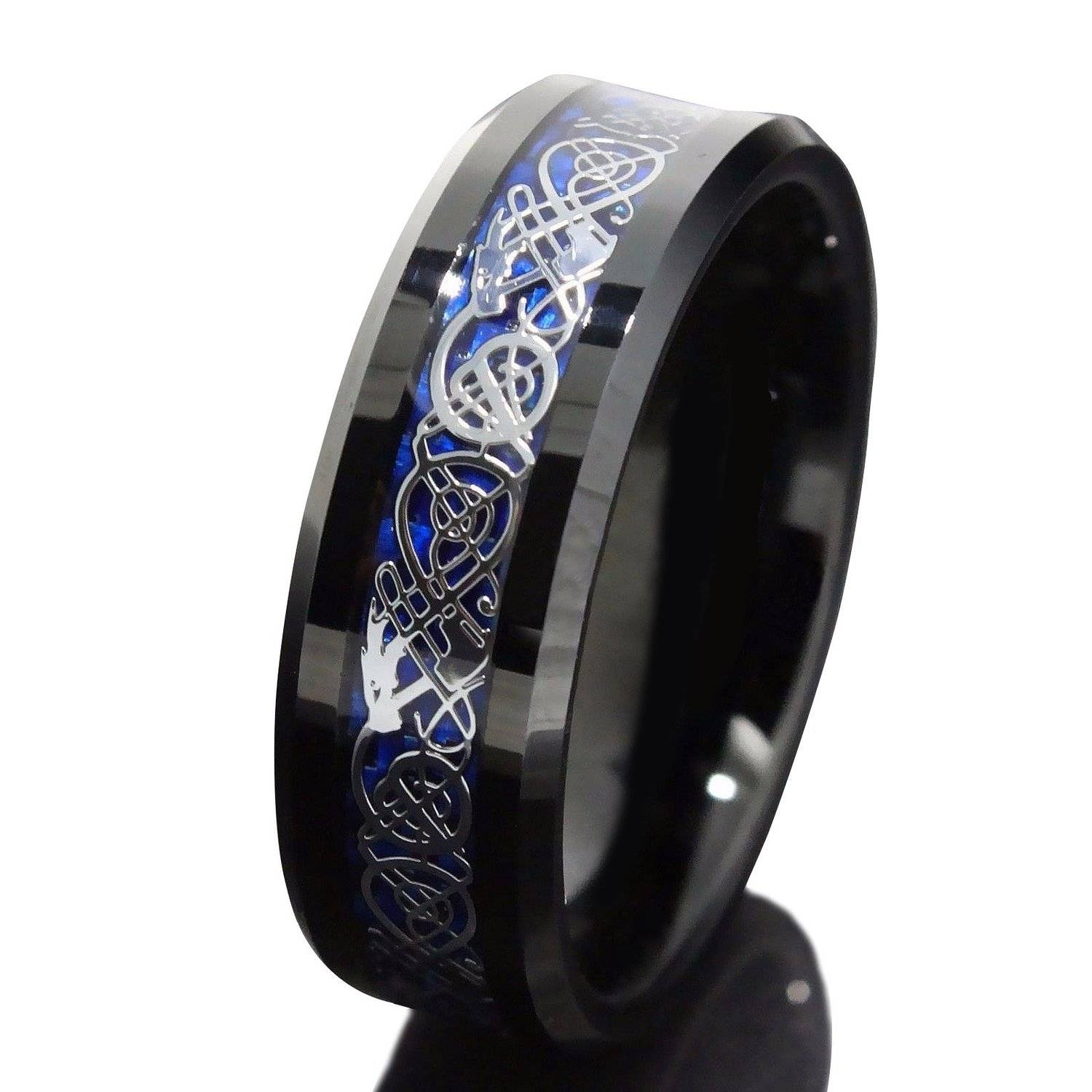 Engagement Rings : B Stunning Tungsten Carbide Engagement Rings Inside Men's Wedding Bands Size  (View 2 of 15)