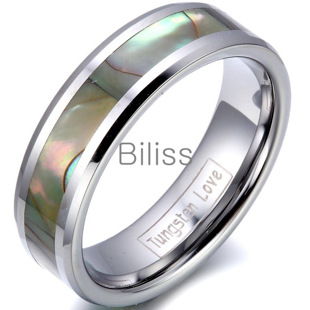 Engagement Rings : B Stunning Tungsten Carbide Engagement Rings With Regard To Men's Wedding Bands Size  (View 11 of 20)
