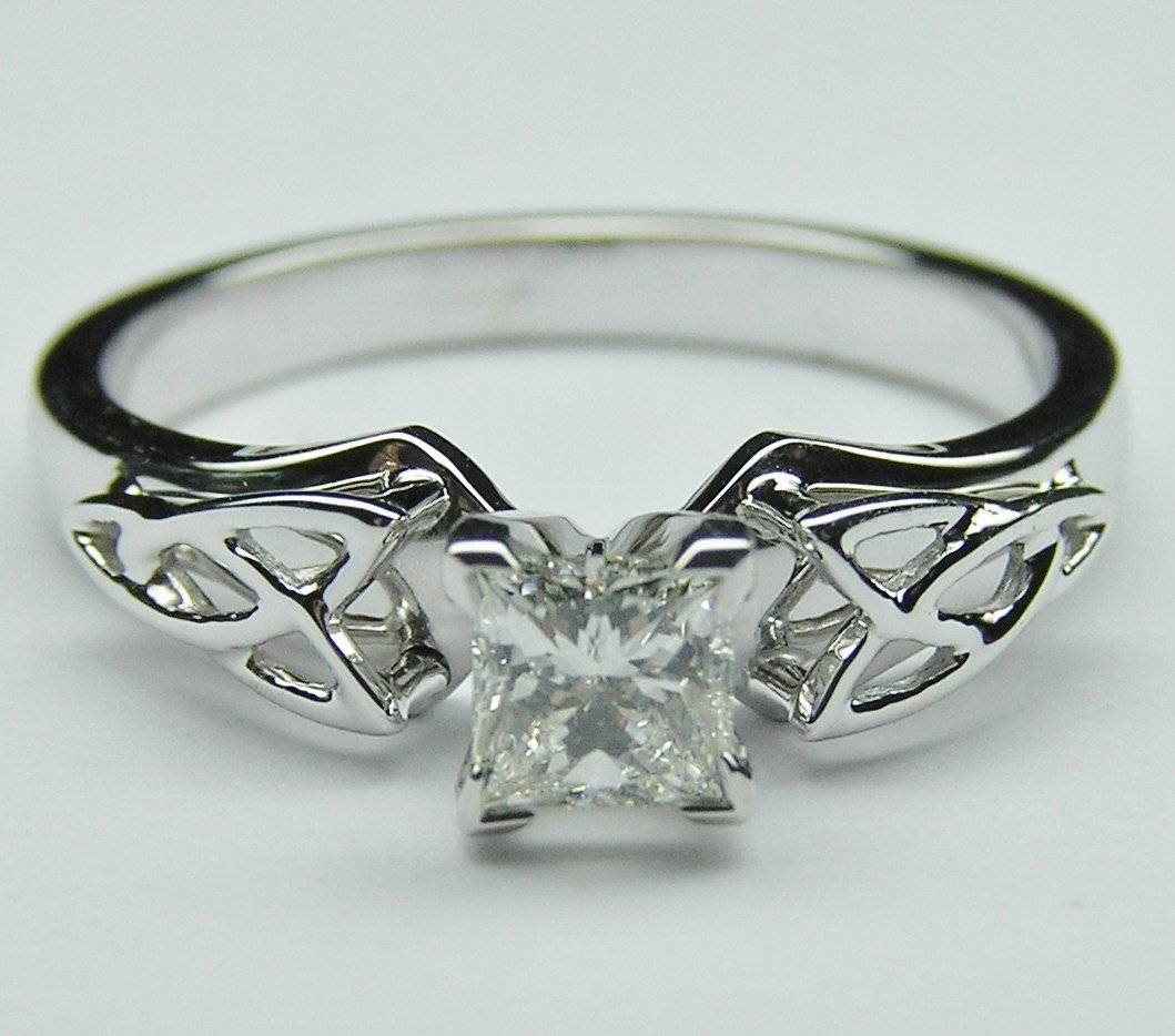 Engagement Rings: Beautiful Celtic Engagement Rings Silver Throughout Silver Celtic Engagement Rings (View 7 of 15)