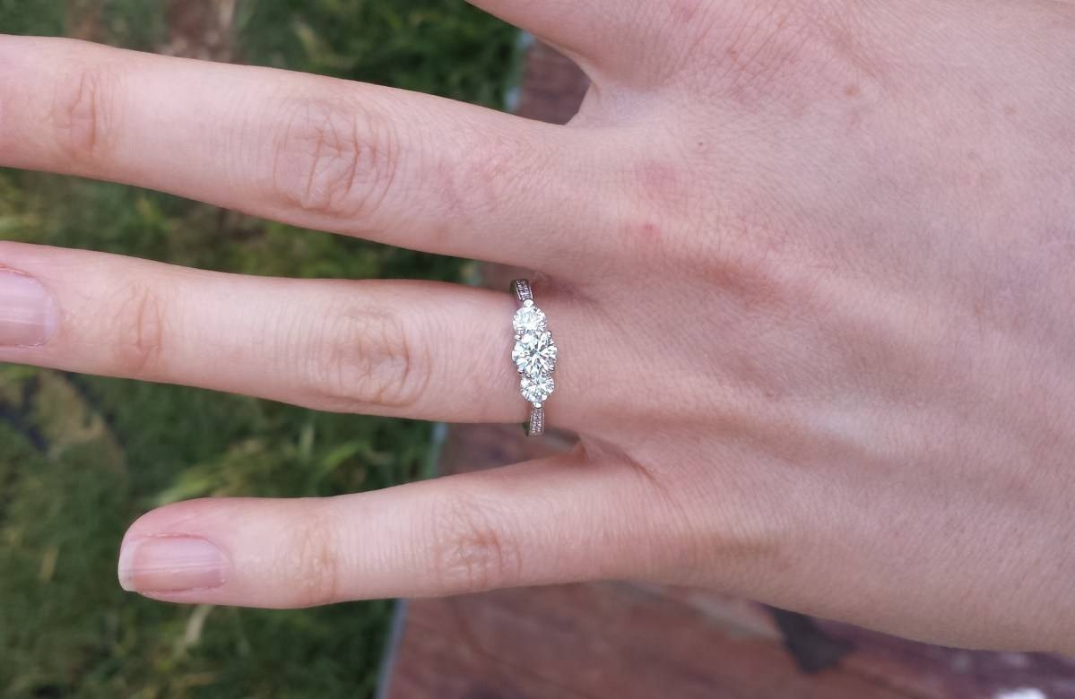 Engagement Rings : Beautiful Engagement Ring Costco Costco Diamond With Regard To Costco Wedding Bands (View 12 of 15)