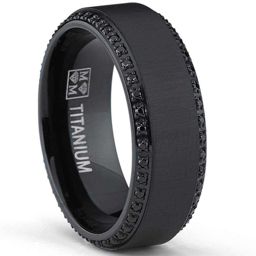 Engagement Rings : Black Wedding Rings For Men Amazing Mens Regarding Men's Black And Blue Wedding Bands (View 6 of 15)