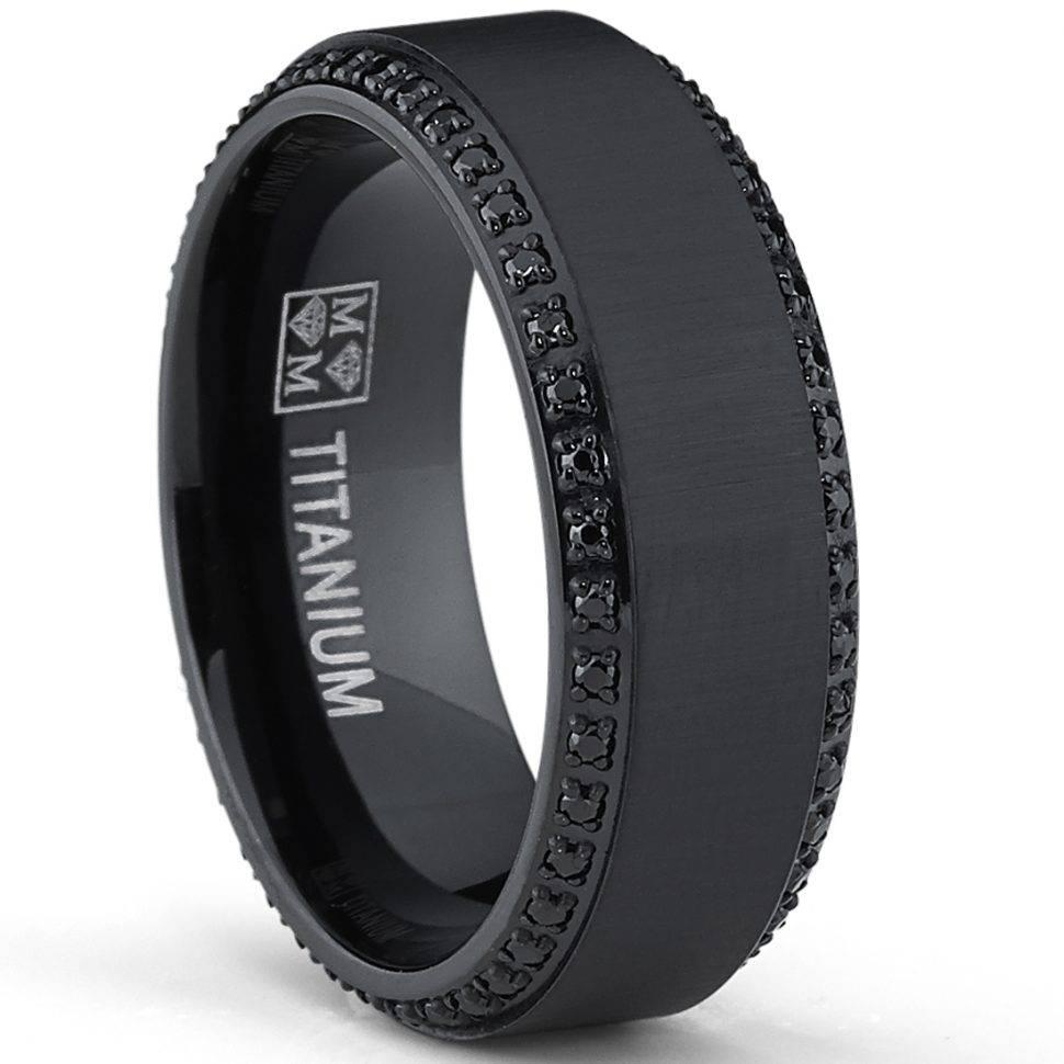 Engagement Rings : Black Wedding Rings For Men Amazing Mens Regarding Men's Black And Blue Wedding Bands (View 11 of 15)