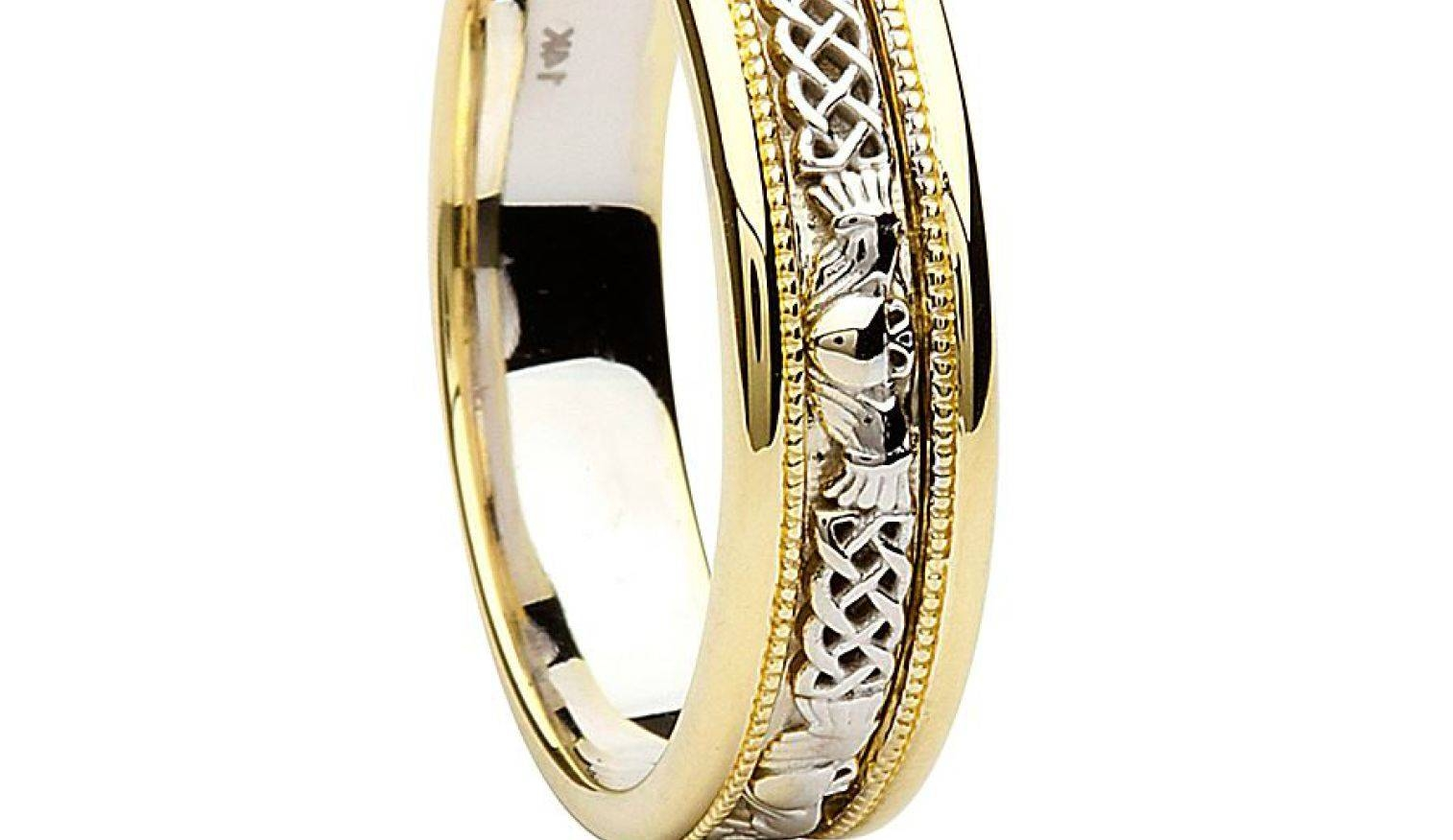 Engagement Rings : Claddagh Wedding Rings Awesome Claddagh Throughout Men's Claddagh Wedding Bands (View 4 of 10)
