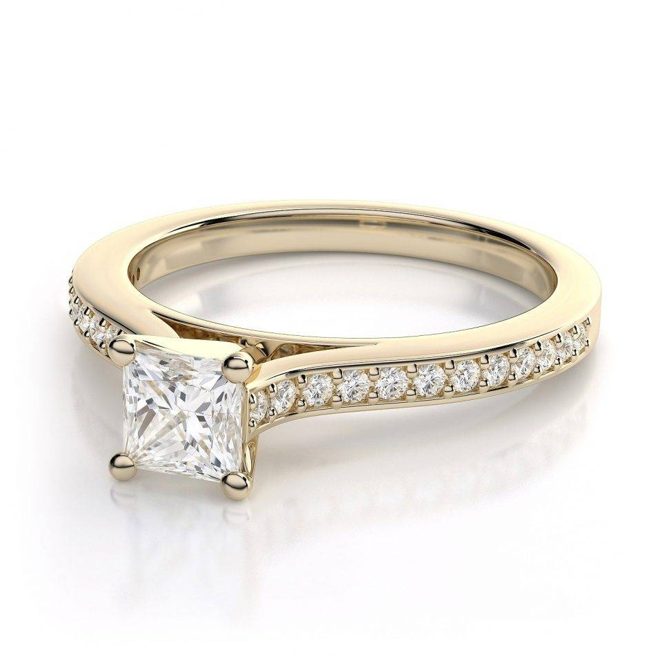Engagement Rings : Curved Wedding Band Awesome Diamond Engagement With Curved Wedding Bands For Women (View 6 of 15)