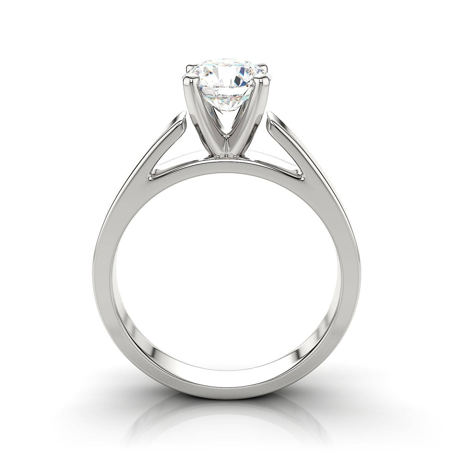 Engagement Rings : Diamondland Stunning Engagement Rings Setting Throughout Platinum Wedding Rings Settings (View 10 of 15)