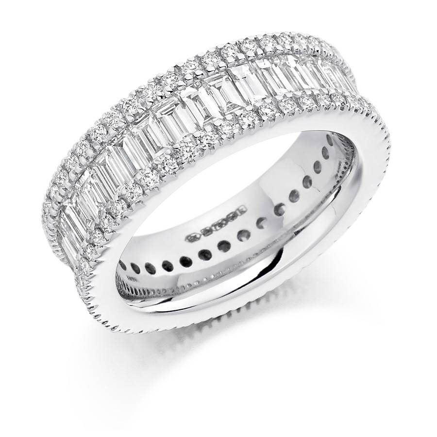 Engagement Rings Dublin – Voltaire Diamonds Inside Wedding Rings Bands With Diamonds (View 8 of 15)