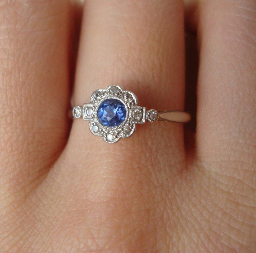 Engagement Rings : Endearing Blue Diamond Engagement Rings Zales Throughout Zales Blue Diamond Engagement Rings (View 9 of 15)