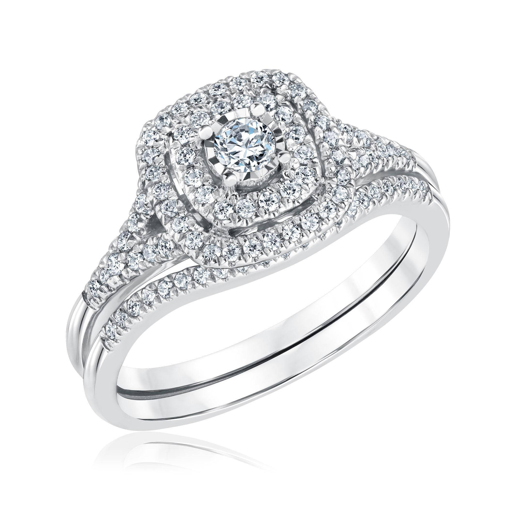 Engagement Rings : Engagement Rings With Wedding Bands Stunning Throughout Wedding Rings With Engagement Ring Sets (View 9 of 15)