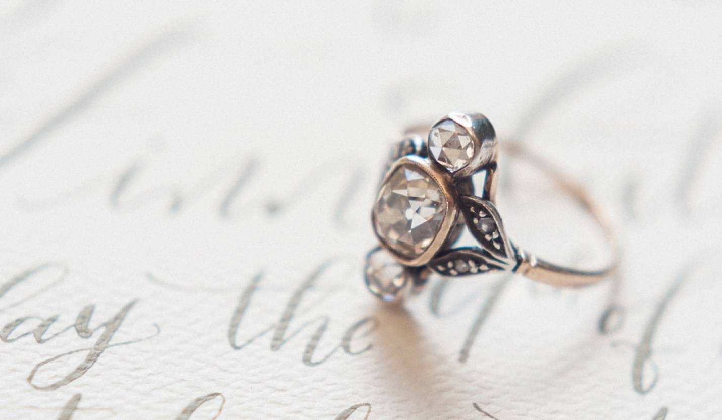 Engagement Rings : From Something Old Something New Non For Vintage Engagement Rings Northern Ireland (View 6 of 15)