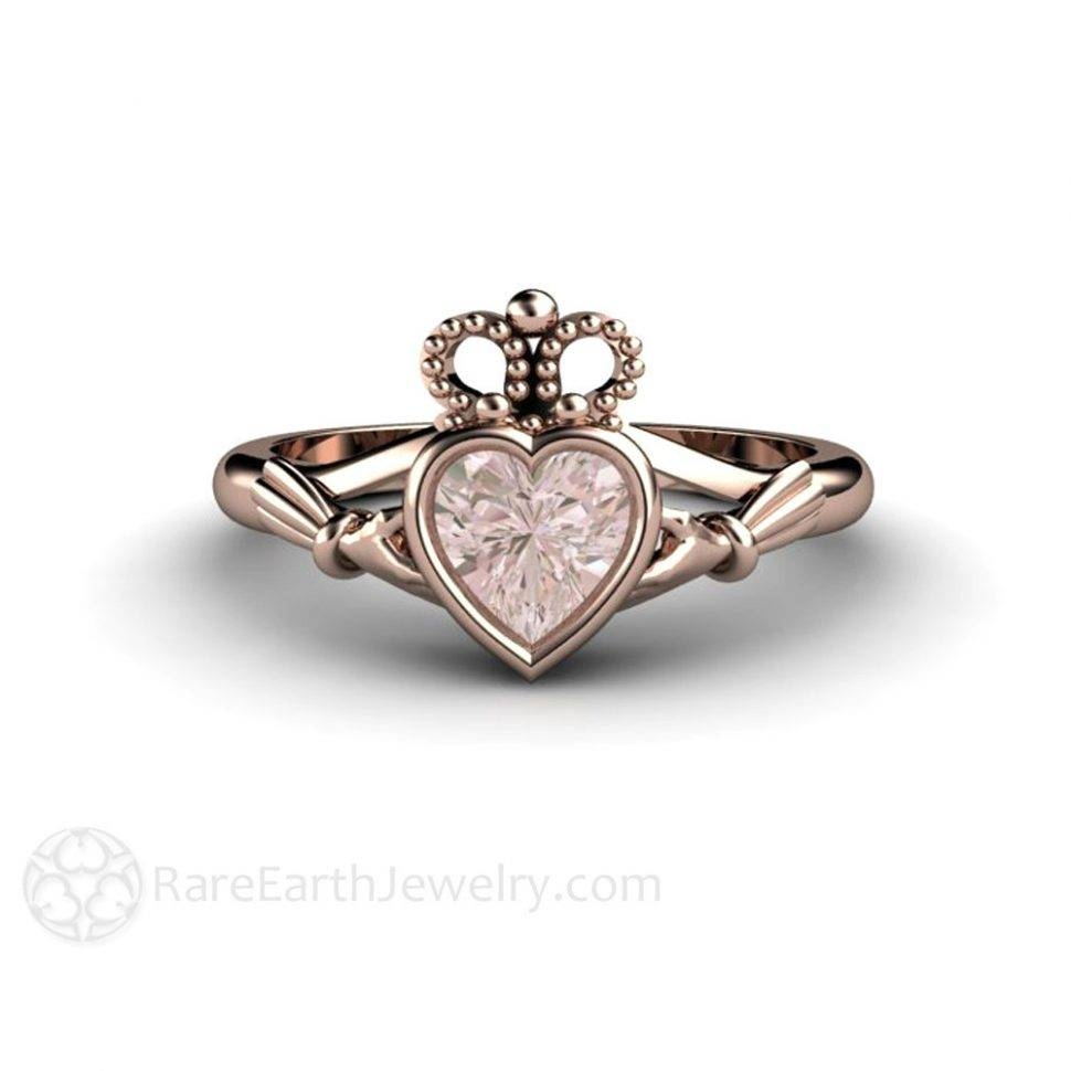 Engagement Rings : Gents Claddagh Wedding Bands Stunning Claddagh In Diamond Claddagh Engagement & Wedding Ring Sets (View 9 of 15)