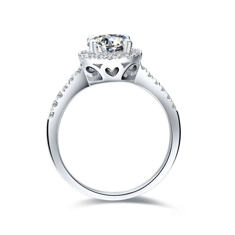 Engagement Rings : Heart Shaped Engagement Wedding Ring Sets With Regard To Interlocking Engagement Rings (View 7 of 15)