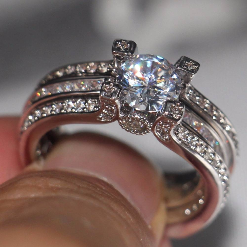 Engagement Rings : Infinity Wedding Rings Stunning Trendy Throughout Infinity Style Engagement Rings (View 8 of 15)