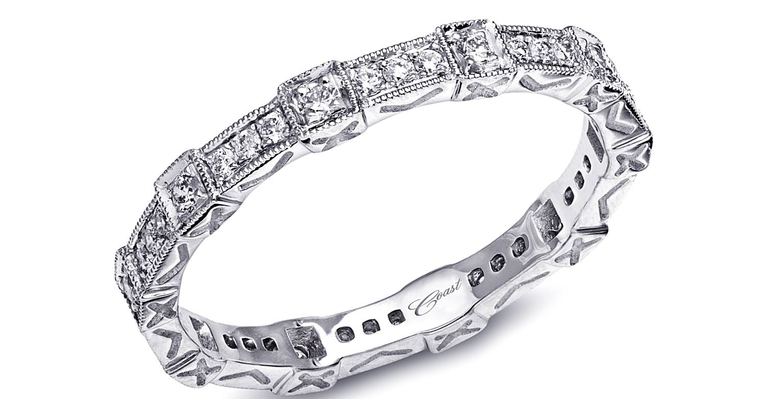 Engagement Rings : Jewelry Basics Pr Engagement Rings Diamond Band Regarding Wedding Rings With Diamond Band (View 12 of 15)