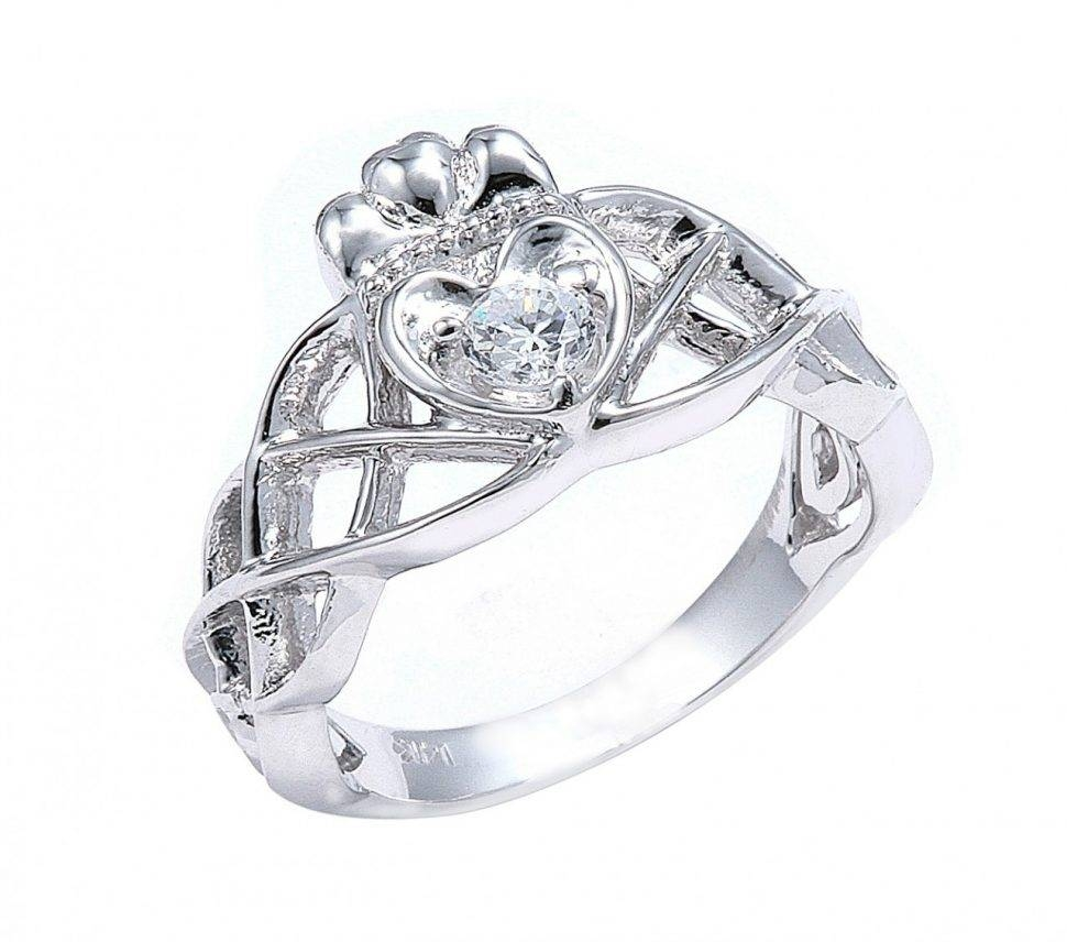 Engagement Rings : Mens Celtic Wedding Rings Awesome Claddagh Pertaining To Mens Claddagh Wedding Rings (View 7 of 15)