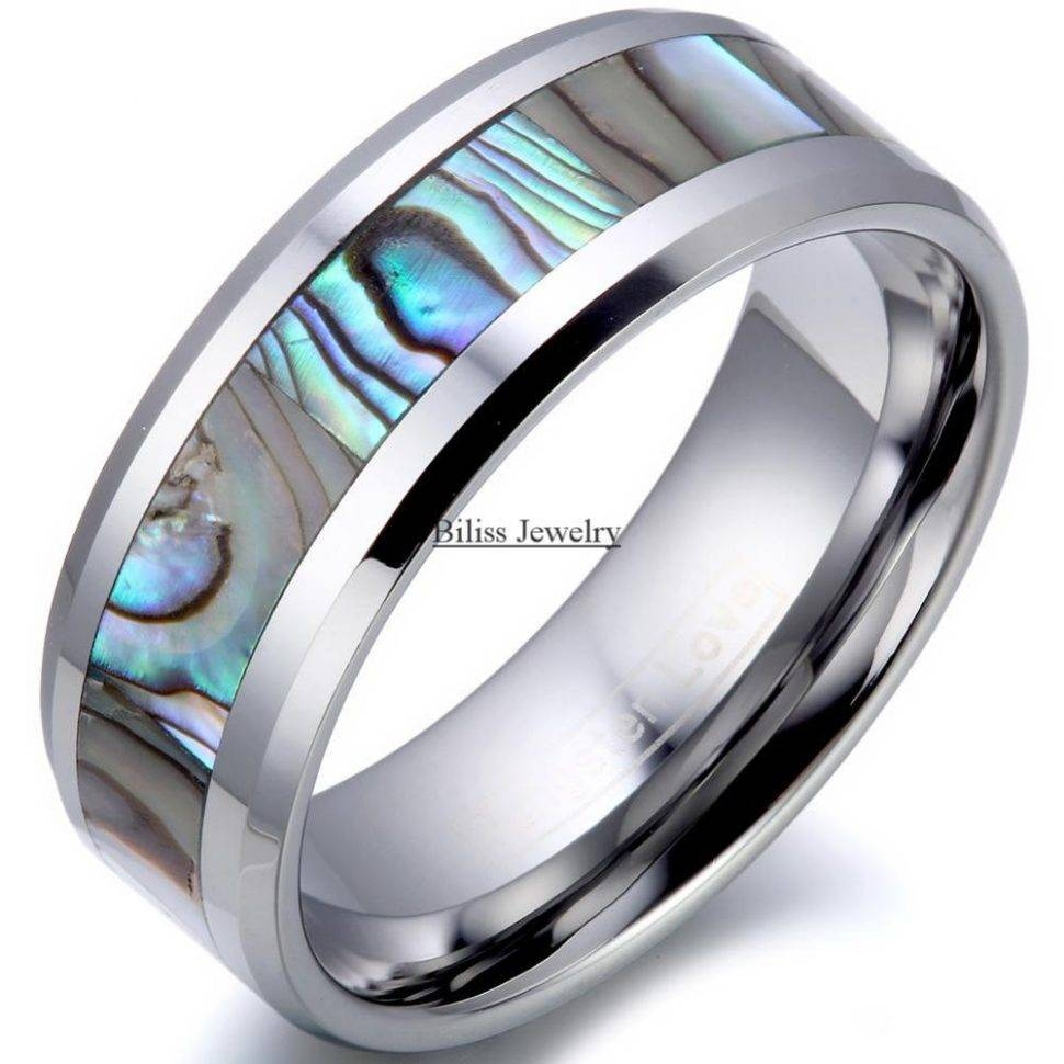 Engagement Rings : Mens Titanium Wedding Bands Amazing Mens For Macys Men's Wedding Bands (View 9 of 15)