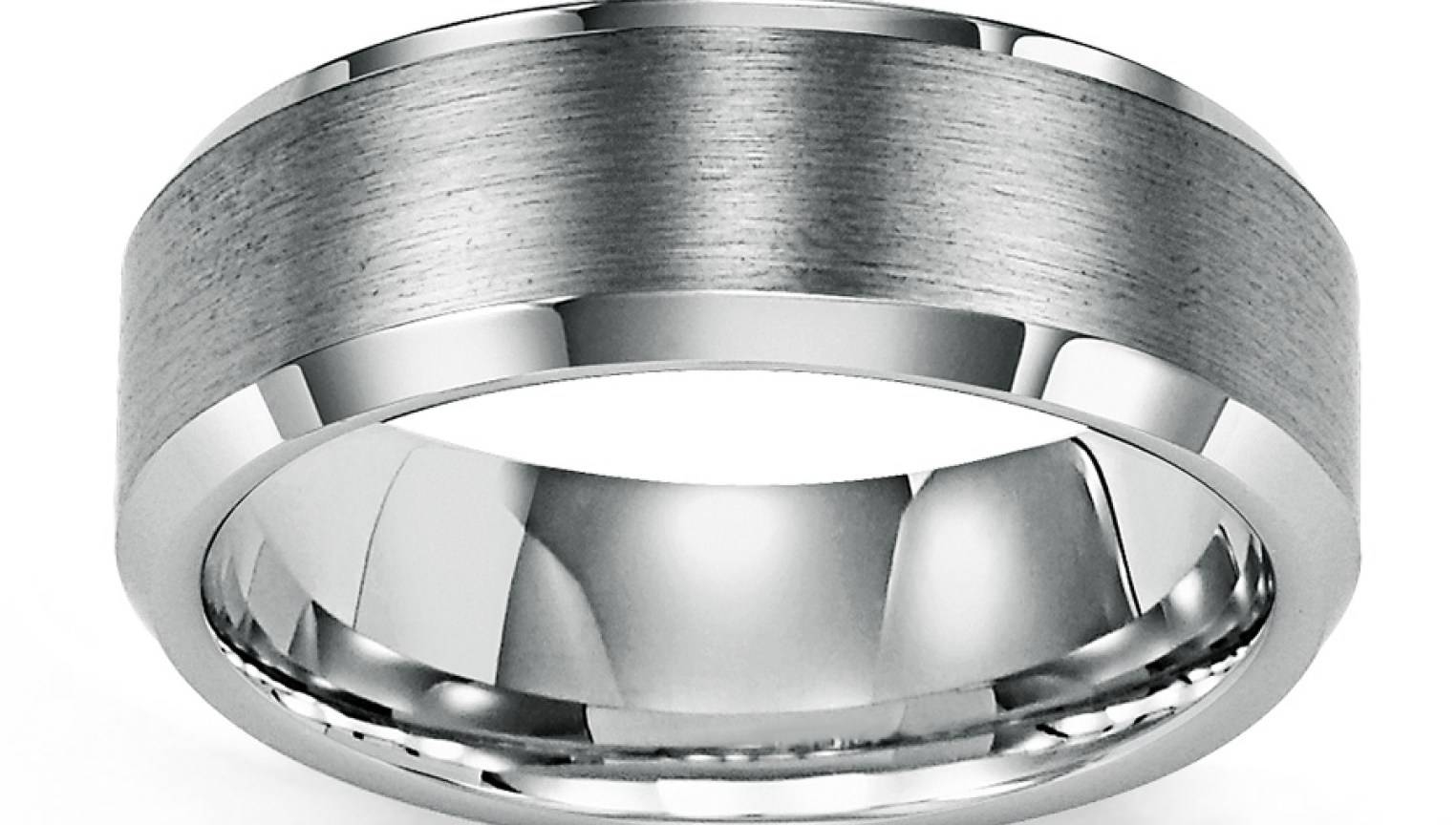 Engagement Rings : Mens Wedding Band Tungsten Carbide 1 Beautiful Inside Kay Jewelers Men Wedding Bands (View 2 of 15)