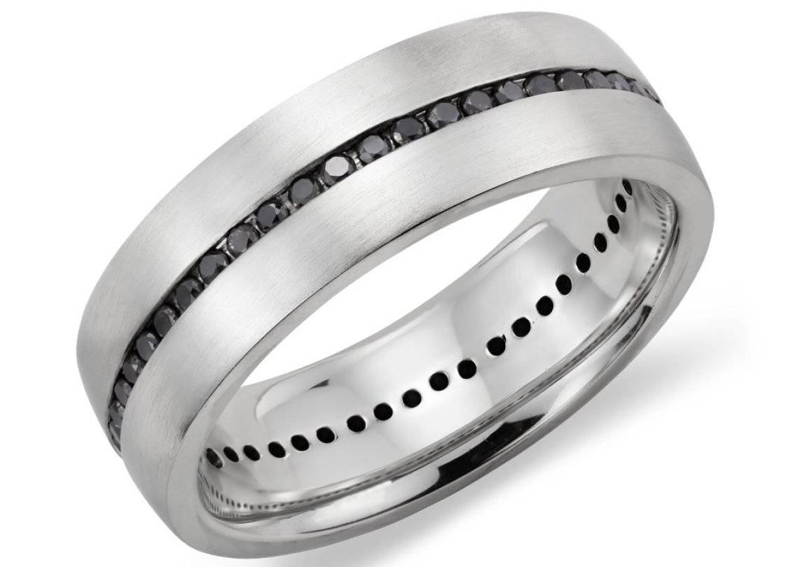 Engagement Rings : Olympus Digital Camera Engagement Rings Black For Male Black Diamond Wedding Bands (View 4 of 15)