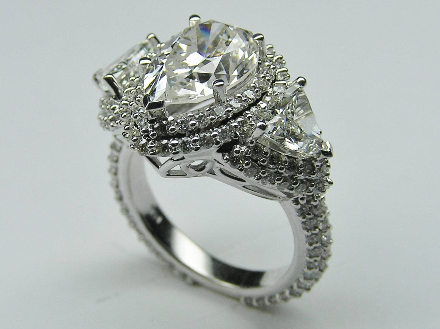 Engagement Rings : Pear Shaped Engagement Ring Stunning Engagement With Regard To Vintage Engagement Rings Northern Ireland (Gallery 2 of 15)