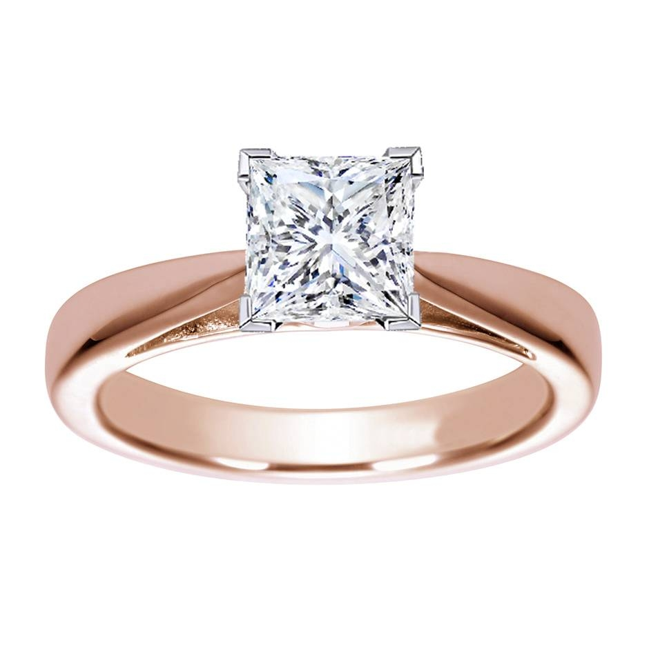 Engagement Rings : Rose And White Gold Wedding Rings Amazing Regarding Gold Rose Wedding Rings (View 7 of 15)