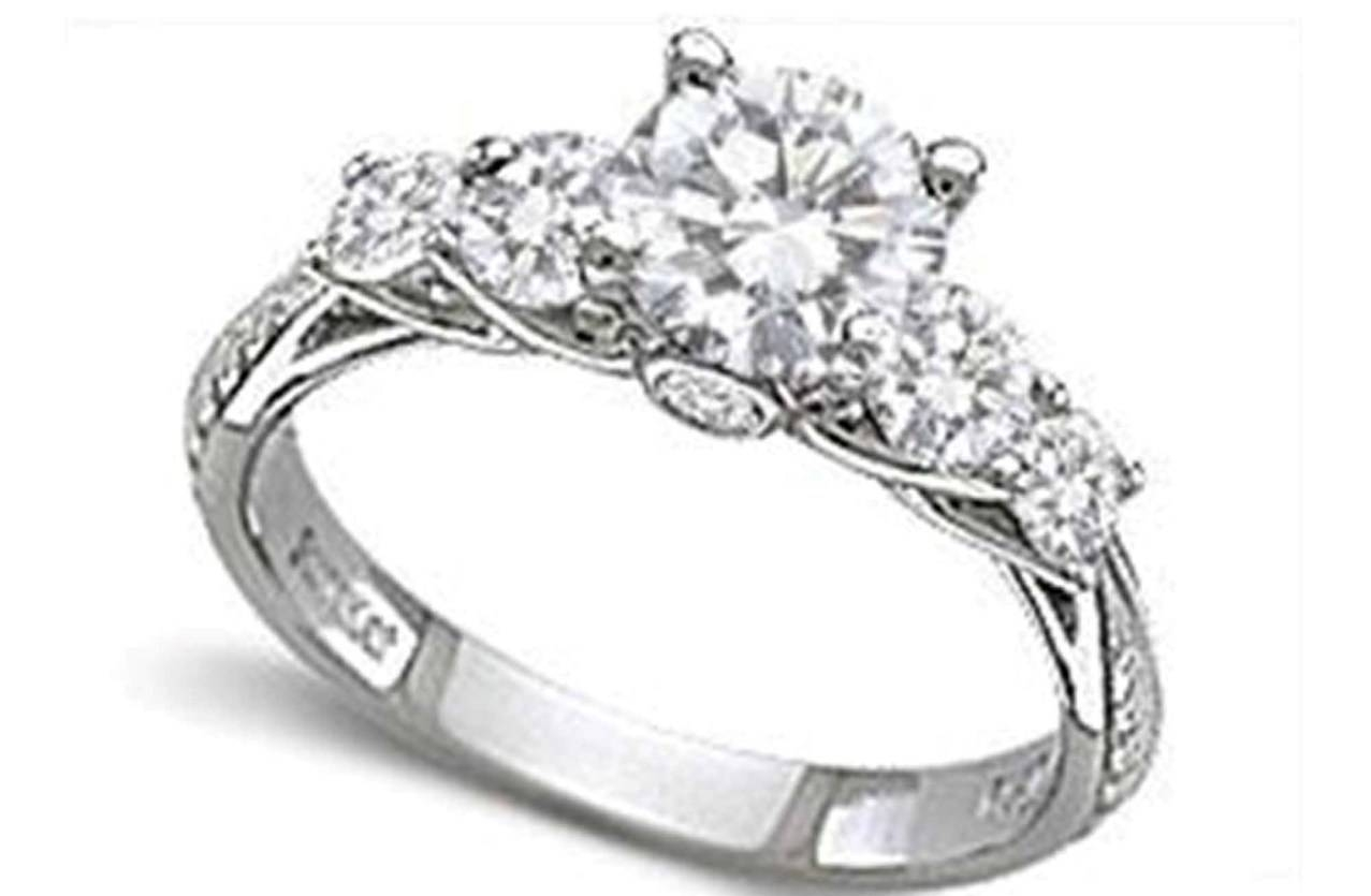 Engagement Rings : Sapphire And Diamond Engagement Rings Amazing For Zales Diamond Engagement Rings (View 7 of 15)
