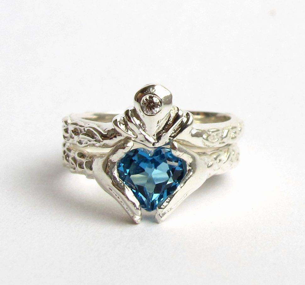 Engagement Rings : Stunning Claddagh Engagement Rings Sets Heart With Regard To Irish Claddagh Engagement Rings (View 12 of 15)