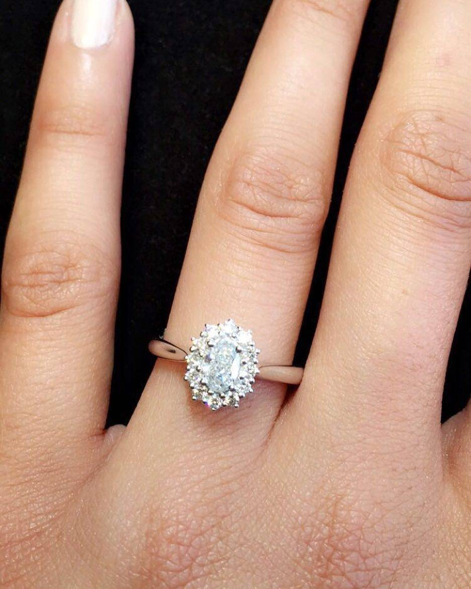 Engagement Rings : Stunning Halo Engagement Rings Cheap This Intended For Engagement Rings Under (View 5 of 15)