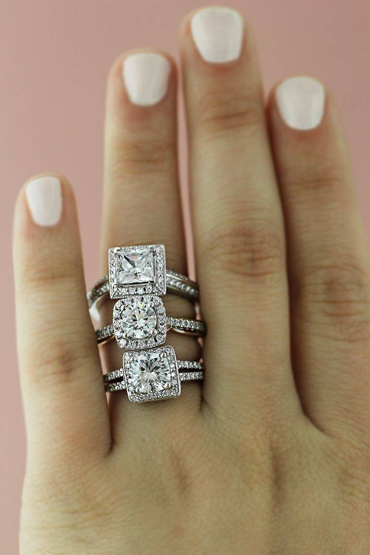 Engagement Rings : Stunning Halo Engagement Rings Cheap This With Engagement Rings Under 700 (Gallery 4 of 15)