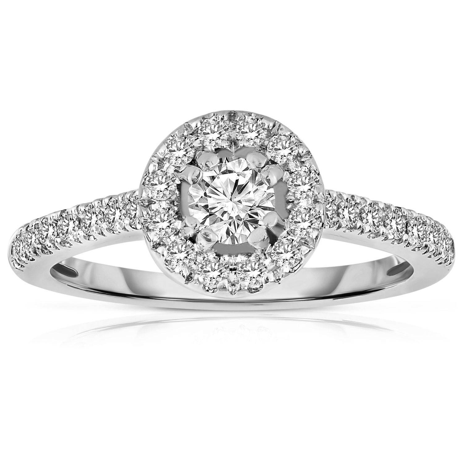 Engagement Rings Under 500 | Diamond Engagement Rings Under $500 For Cheap Engagement Rings For Women Under  (View 9 of 15)