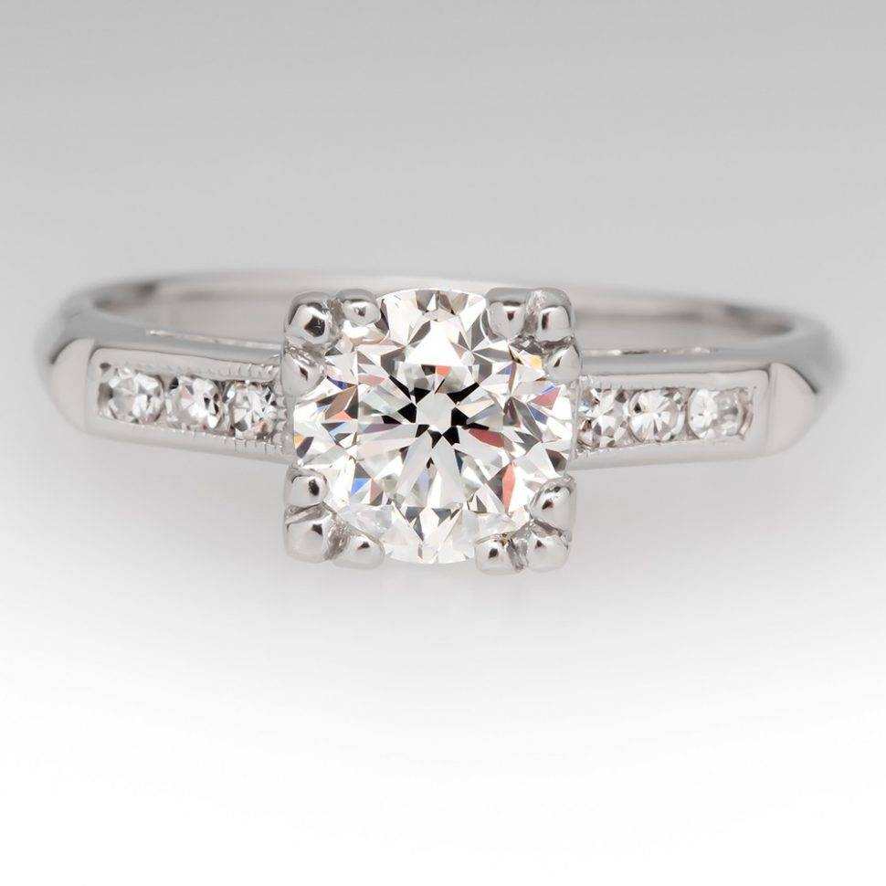 Engagement Rings : Vintage Engagement Rings Stunning Engagement In Engagement Ring Settings Without Stones (View 8 of 15)
