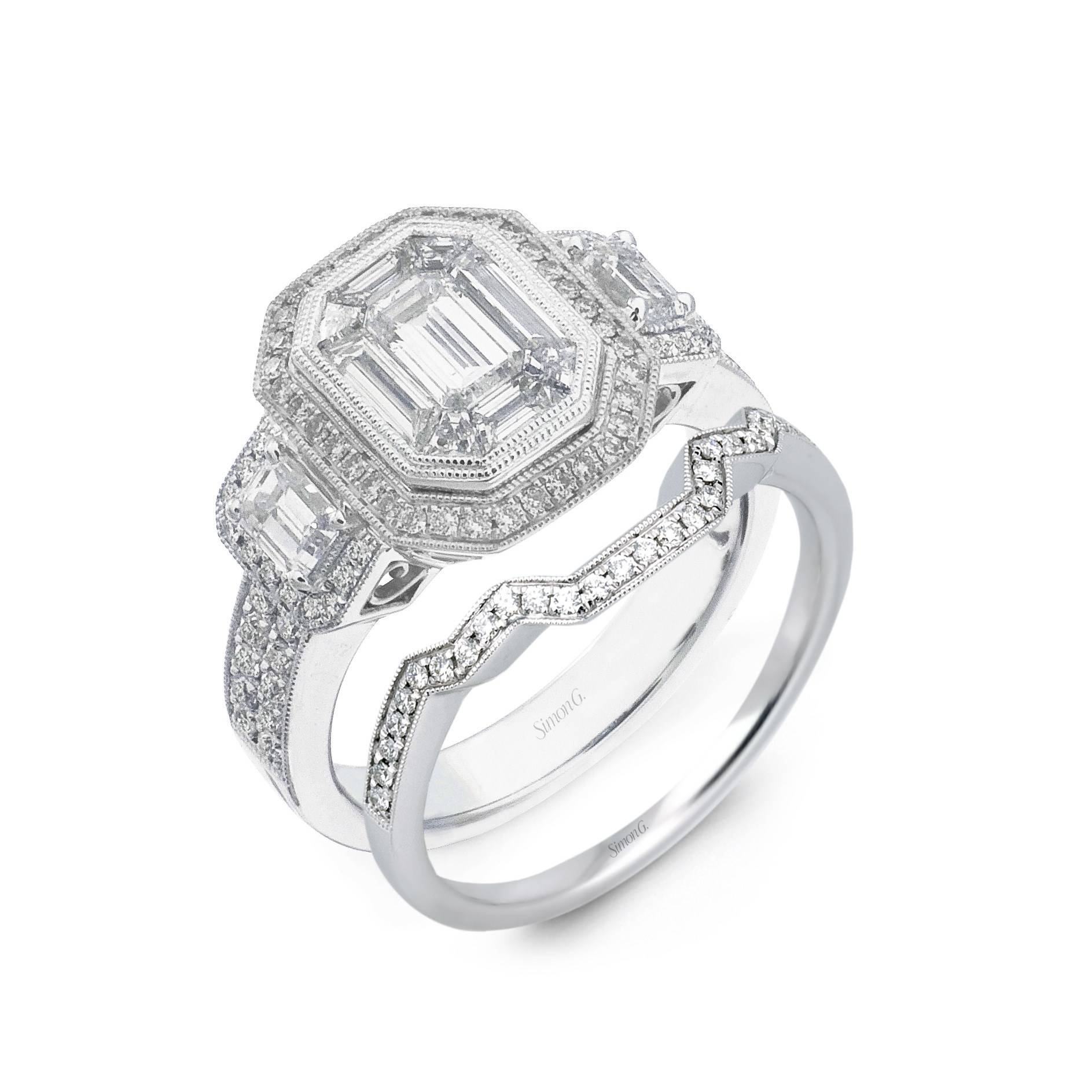 Engagement Rings : Wedding Band To Match Engagement Ring Stunning For Engagement Rings Bands (View 5 of 15)
