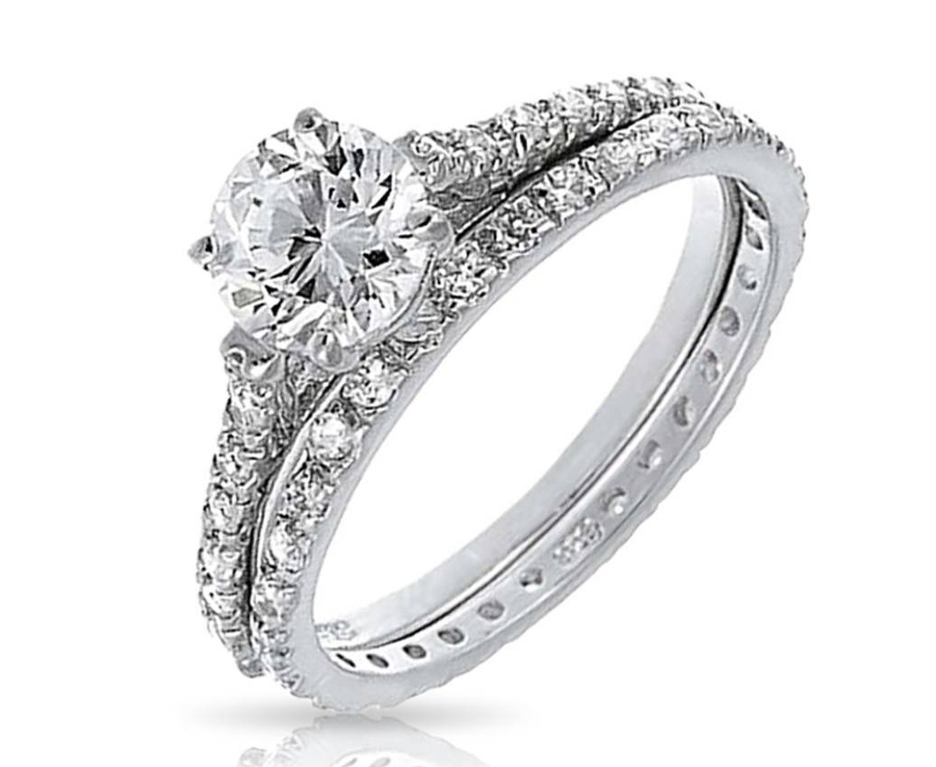 Engagement Rings : Wedding Ring Amazing Engagement Rings And Bands Regarding Wedding Rings For Bride And Groom Sets (View 10 of 15)
