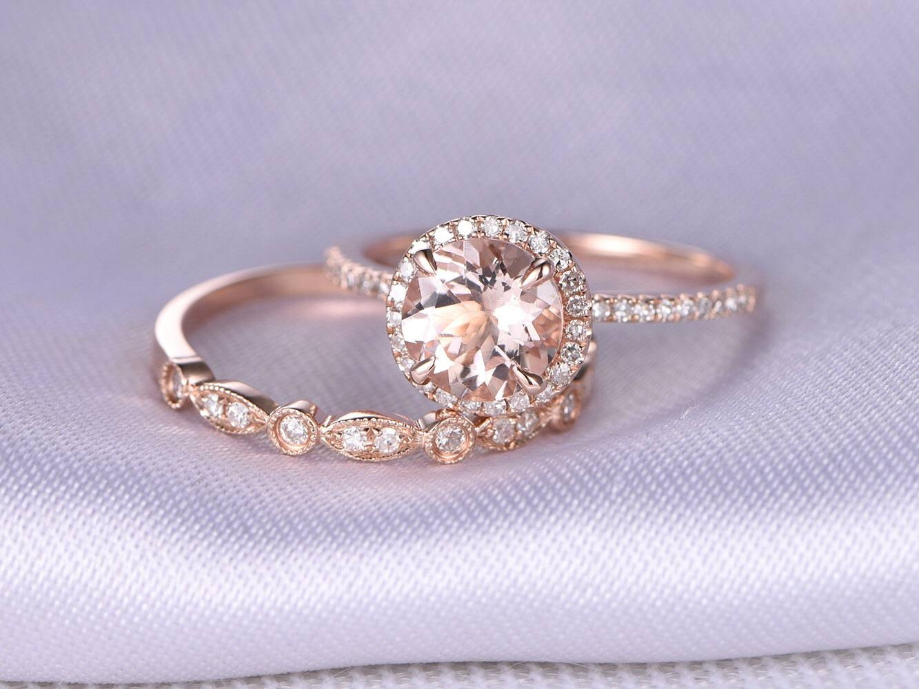 Engagement Rings : Wedding Ring Set Beautiful Engagement Ring Set Regarding Cheap Wedding Bands For Her (View 11 of 15)