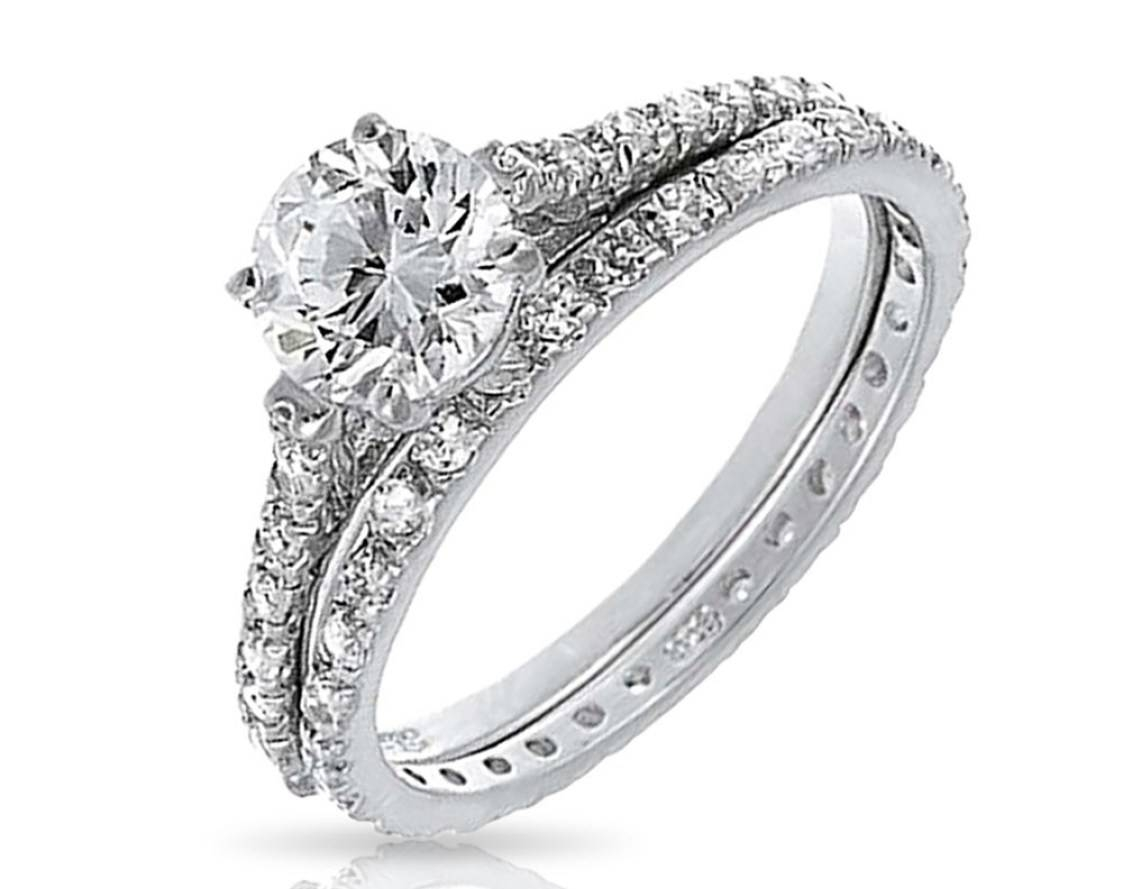 Engagement Rings : Wedding Ring Set Beautiful Engagement Ring Set Within Engagement Wedding Rings Sets (View 7 of 15)