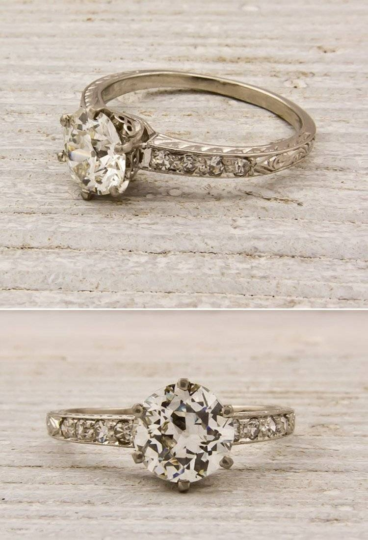 Engagement Rings Within Antique Irish Engagement Rings (Gallery 7 of 15)