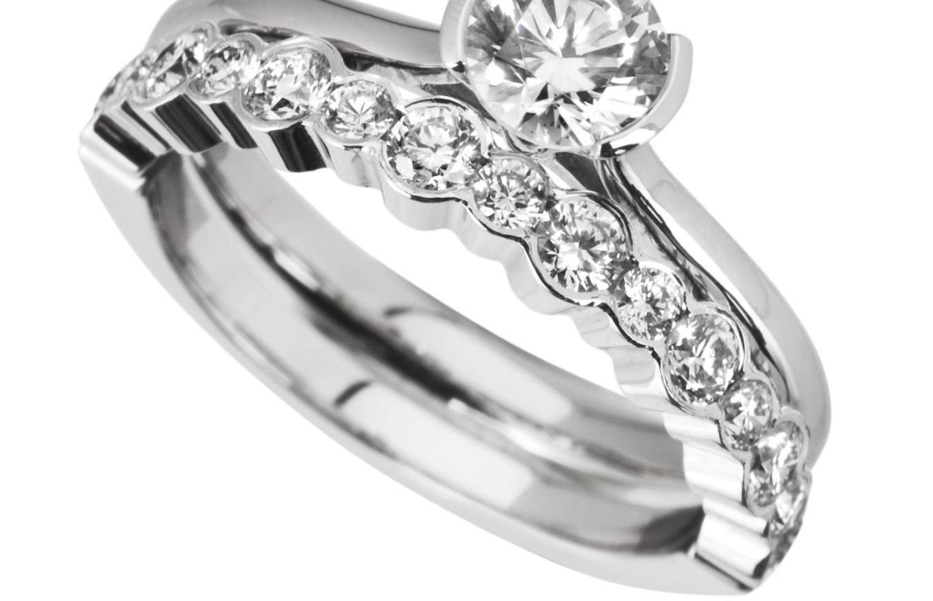 Engagement Rings : Wonderful Engagement Rings And Wedding Band Pertaining To Engagement Rings With Wedding Bands Sets (View 11 of 15)