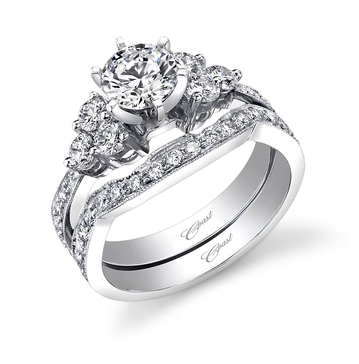 Engagement Rings | Worthington Jewelers Within Diamond Cluster Wedding Rings (View 9 of 15)