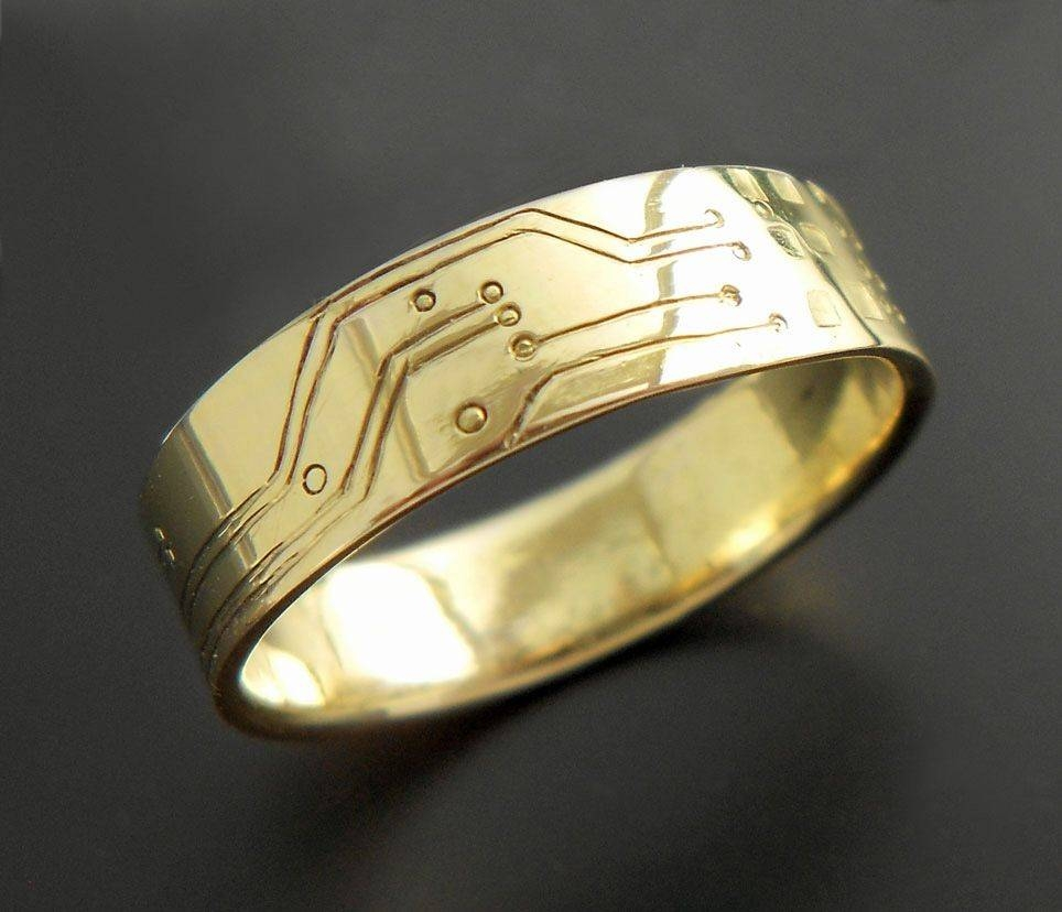 Engraved Wedding Bands | Carved Wedding Rings | Custommade With Regard To Carved Wedding Rings (View 4 of 15)
