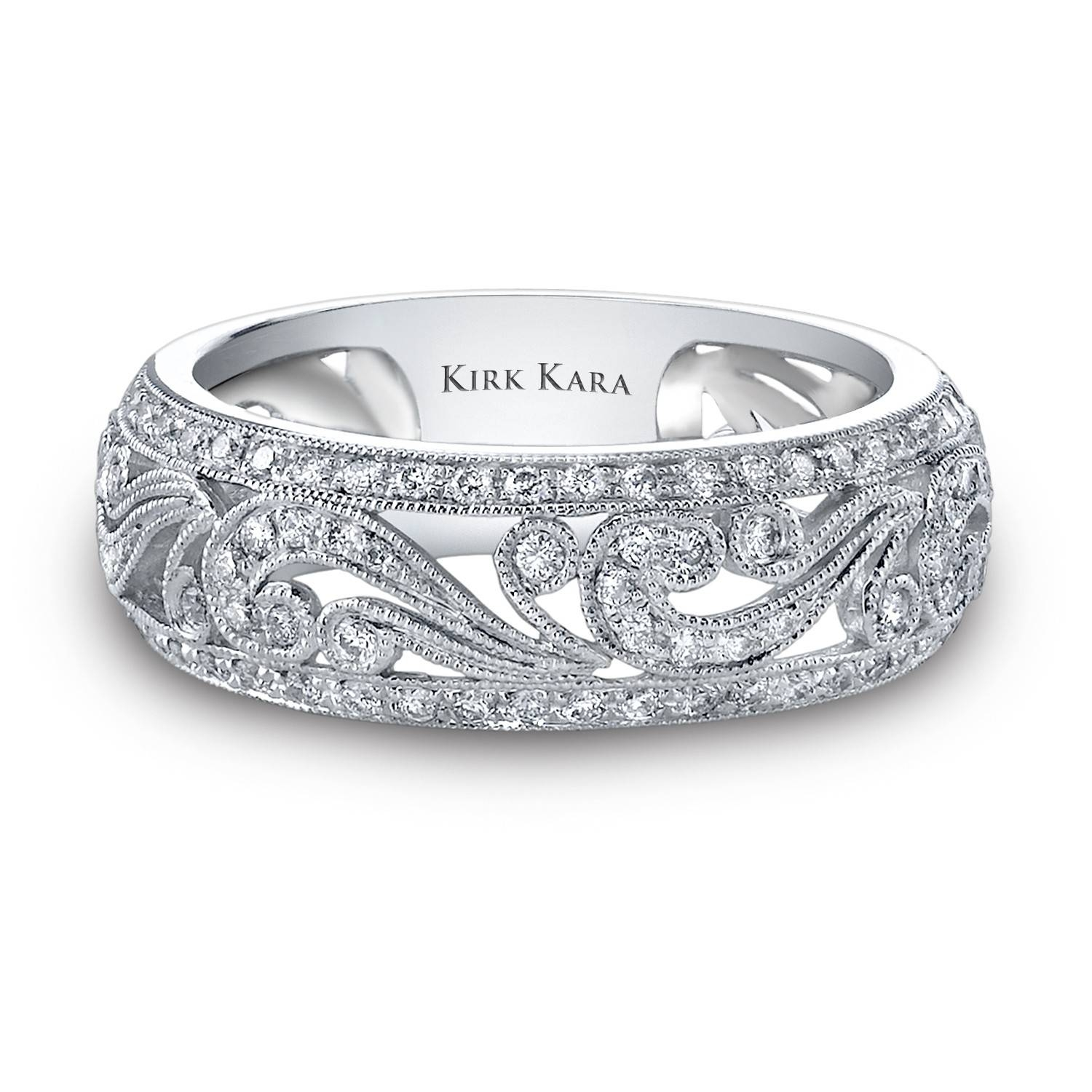 Engraved Wedding Rings For Women | Lake Side Corrals Inside Unique Womens Wedding Bands (View 5 of 15)