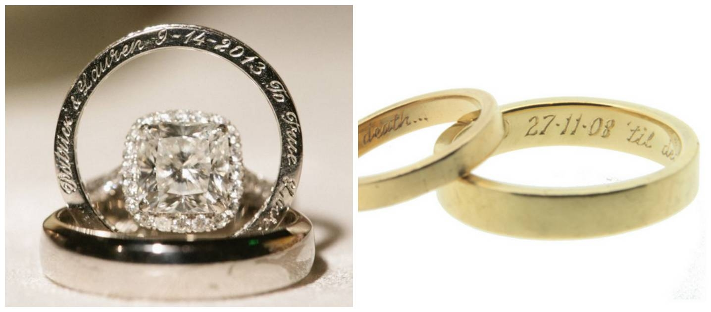 Best engagement ring engravings